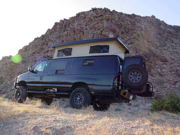Sportsmobile 4wd Van Camper